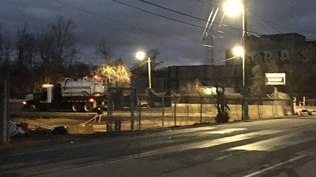 Fuel tank leaks kerosene into the French Broad River in Asheville (FOX Carolina/ 2/4/18)