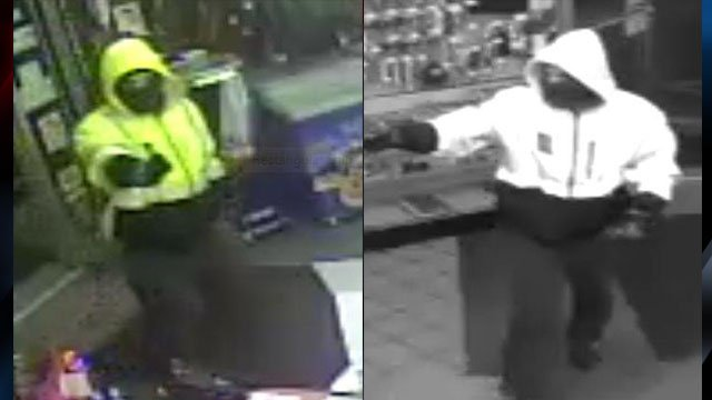 Surveillance images of the suspect (Source: TCSO)