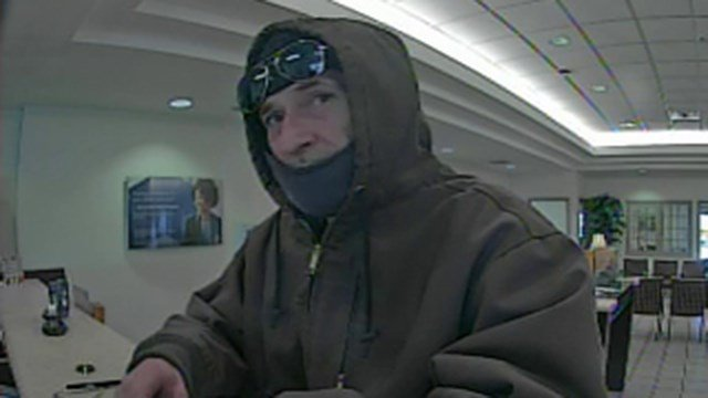 Suspect in SunTrust robbery (Source: GCSO)