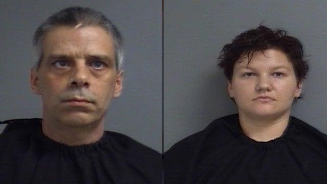From left: Daniel Chambers and Ashley Willard (Source: UCSO)