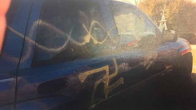 Madison County vandalism (Source: MCSO)