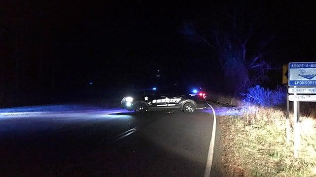 Deputies block off area where suspicious object located in Anderson Co. (2/6/18 FOX Carolina)