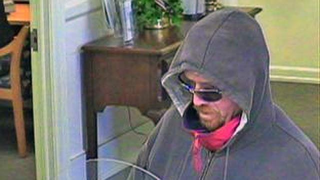 Suspect from SunTrust bank robbery. (Nov. 9, 2011/Anderson County Sheriff's Office)