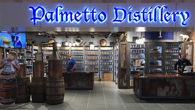 Palmetto Distillery at airport (Source: GSP)