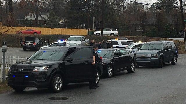 Shooting investigation in Greenville (Feb. 7, 2018/FOX Carolina)