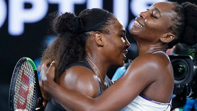 Venus and Serena Williams (Source: Associated Press)
