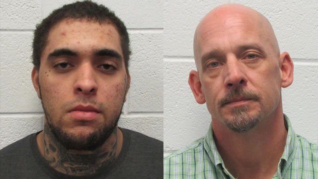 Brendan Kyle Patty (left) and Darien Lee Webb (Source: HCSO)