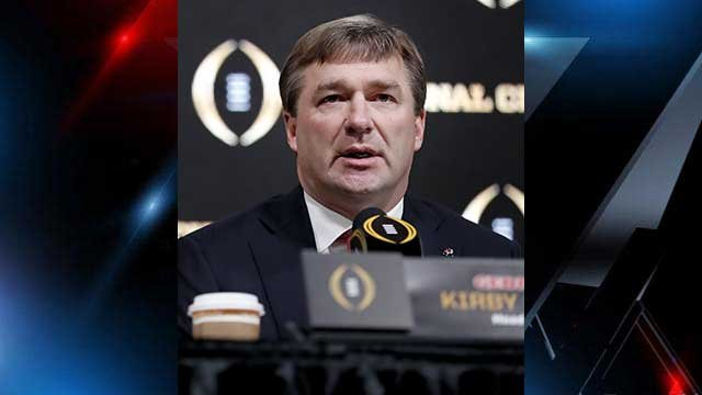 Kirby Smart. (Source: Associated Press).