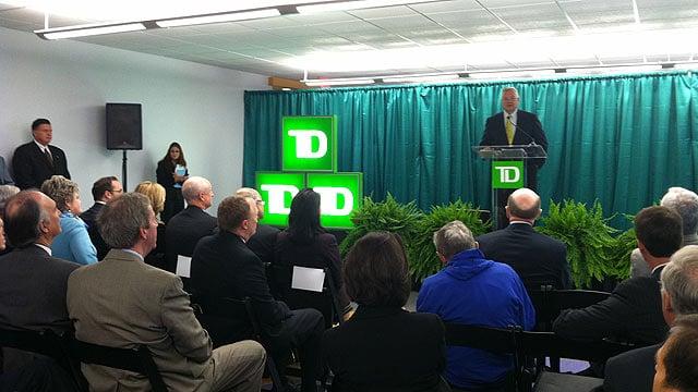 TD Bank announces more than 1,400 jobs headed to Upstate. (Nov. 16, 2011/FOX Carolina)