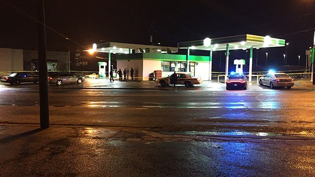 Investigation underway after robbery at BP gas station (FOX Carolina/ 2/11/18)