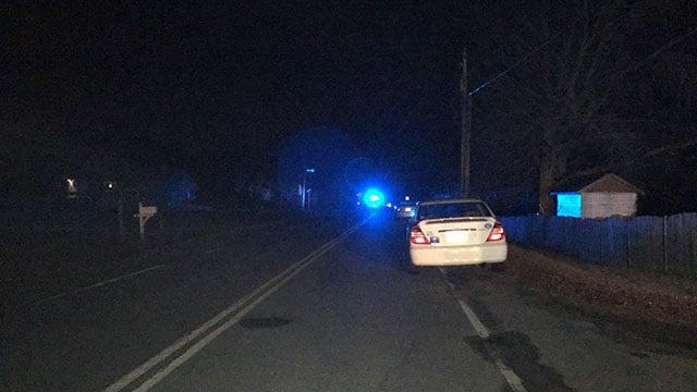 Scene of incident on Varner Road in Woodruff (FOX Carolina/ 2/11/18)