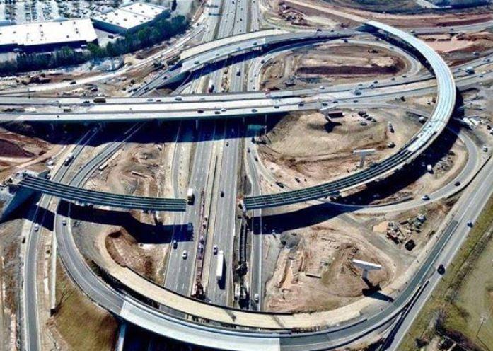 Photo of the bridge construction (Source: 85-385 Gateway)