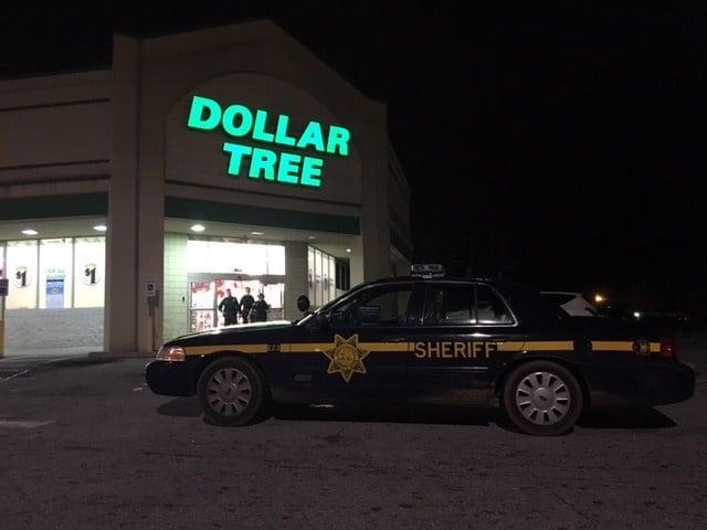 Reported robbery at Dollar Tree (Feb. 12, 2018/FOX Carolina)