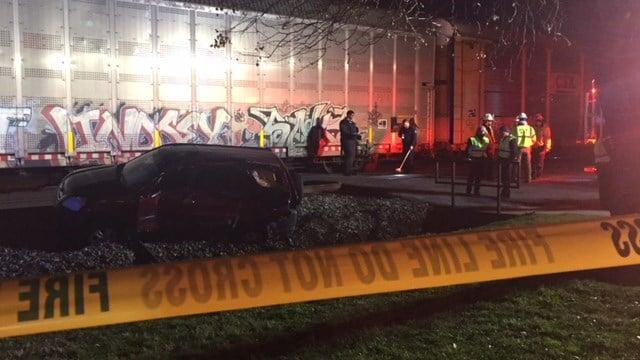 Collision near Granard Street. (2/13/18 FOX Carolina)