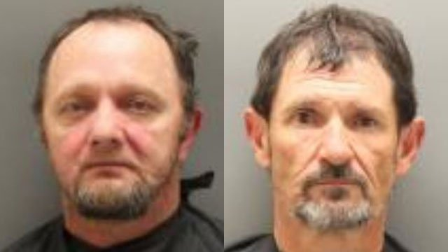 Mickey Cox (L) and Terry Langston (Source: Oconee Co. Detention)
