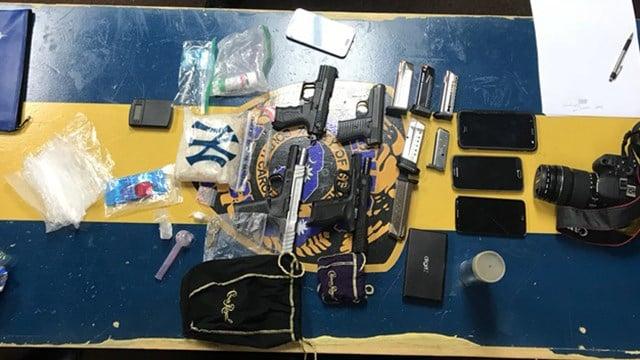 Drugs seized during traffic stop (Source: Seneca PD)