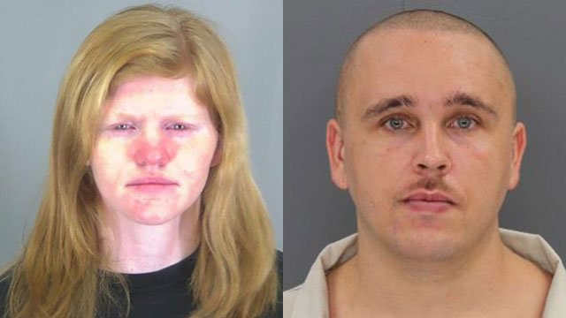 Ashley Burnett and Johnathan Sarratt (Source: Spartanburg Co. Detention/SCDOC)