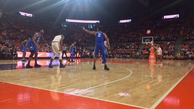 Duke vs. Clemson. (2/18/18 FOX Carolina)