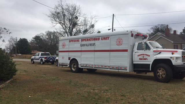 Fire crews on scene of security issue at Calhoun Falls Charter School. (2/19/18 FOX Carolina)