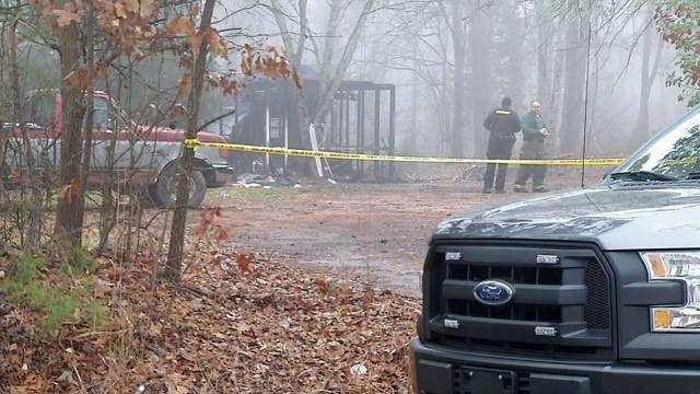 Scene of deadly Anderson County fire (Feb. 20, 2018/FOX Carolina)