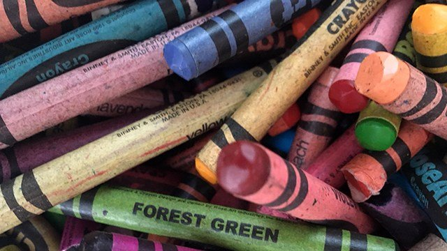 Crayons (Feb. 20, 2018/FOX Carolina)