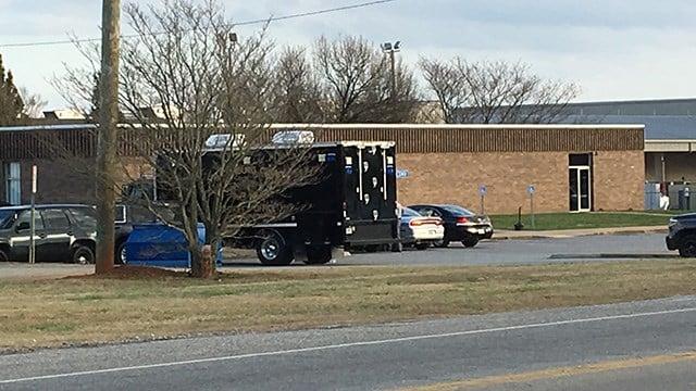 Scene at Fairforest Rd. DMV. (2/20/18 FOX Carolina)