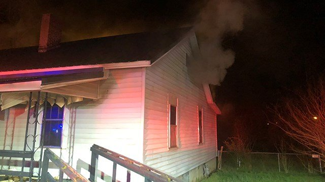 Shirley Street fire (Source: Anderson City FD)