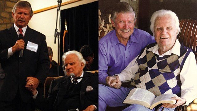 Rev. Billy Graham and Dr. Don Wilton (Source: Dr. Wilton)