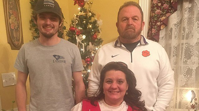 Logan Lusk with family (Source: Angela Lusk)