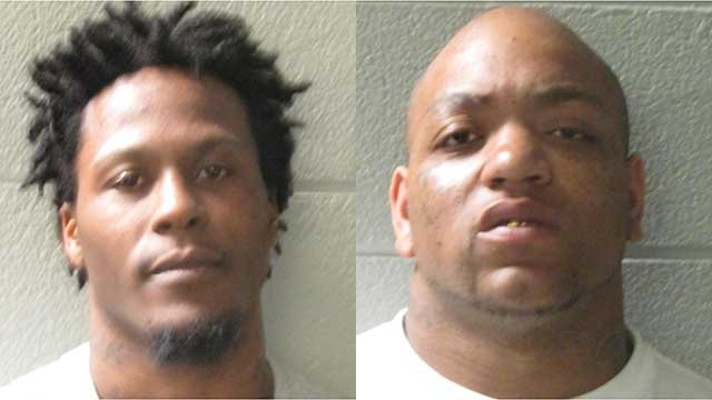 Michael Angram (left) and Zachery Rice (right). (Source: HCSO).