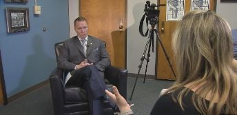 One-on-one with Sheriff Will Lewis after his first year in office (FOX Carolina: 2/23/2017).
