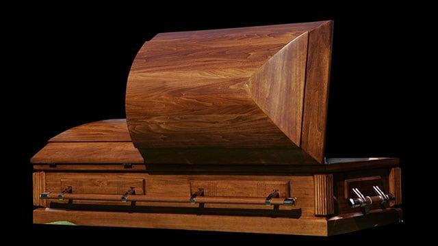 casket (Source: AP)