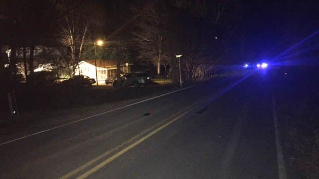 Law enforcement on scene in Polk County. (FOX Carolina/Feb. 24, 2018).