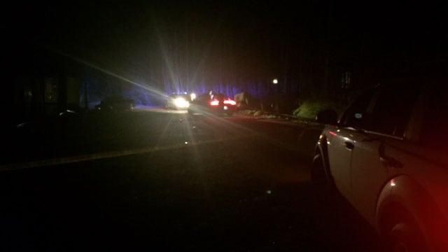 Scene of reported shooting in Blacksburg (FOX Carolina/ 2/24/18)