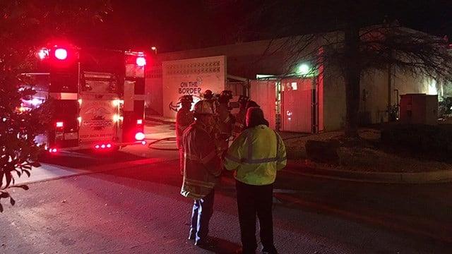 Small fire at On the Border. (2/26/18 FOX Carolina)