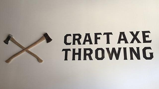 Craft Axe Throwing (Feb. 27, 2018/FOX Carolina)