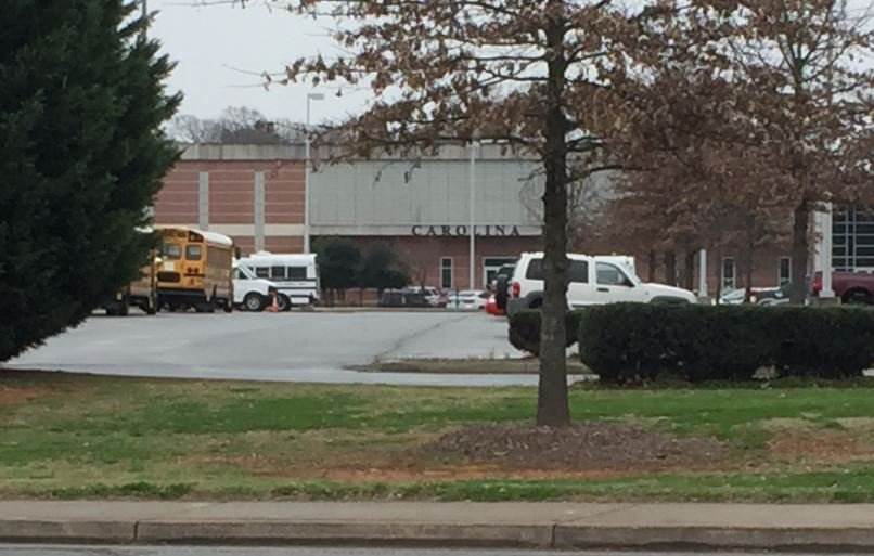 Deputies said a student with a loaded gun was arrested at Carolina High School