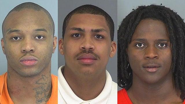 3 Spartanburg men sentenced in violent 2016 home invasion