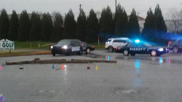 Scene of fatal Greenwood shooting (Source: iWitness)