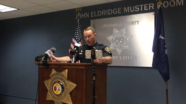 Sheriff Lewis details arrests in Operation Millstone (FOX Carolina/ March 1, 2018)