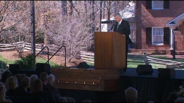 Franklin Graham eulogizes his father (March 2, 2018)