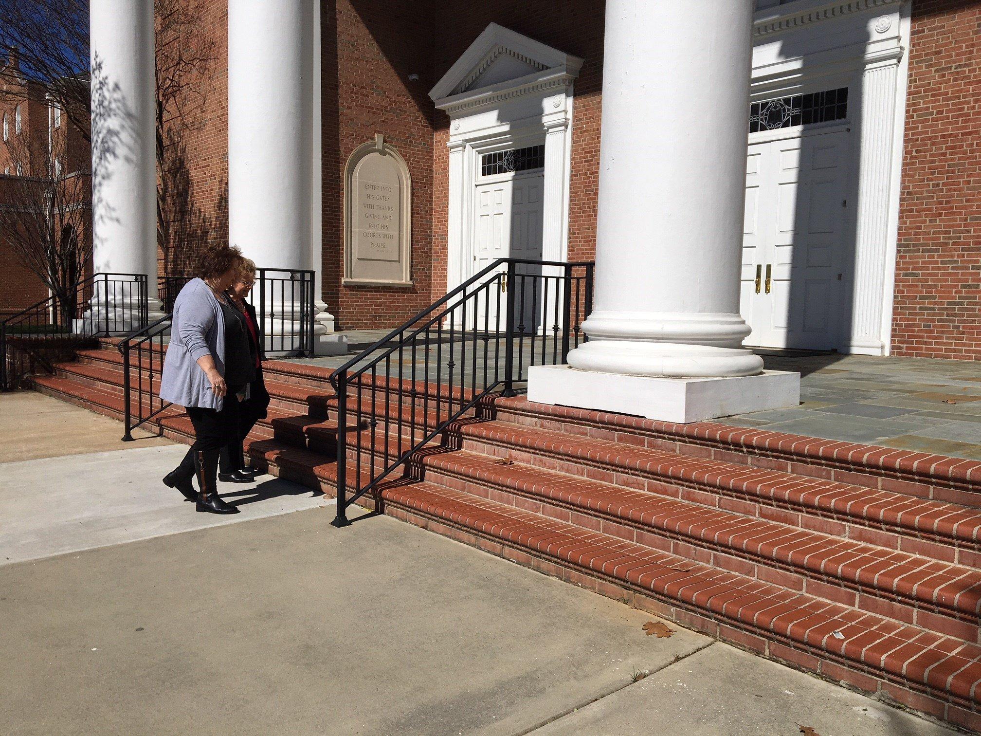 Rev. Billy Graham departs Capitol