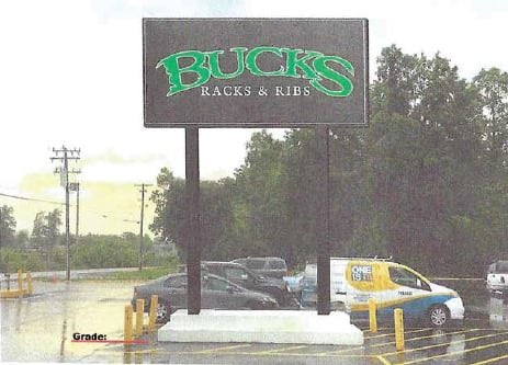 Rendering of the proposed sign (Source: Lawsuit)