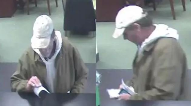 Police are searching for a suspect they say is connected to an armed robbery at TD Bank. (Source: APD)