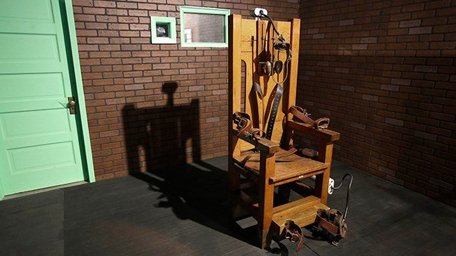 Electric chair. (Source: Ap Images)