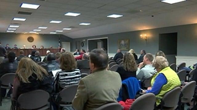 Simpsonville City Council meeting (file/FOX Carolina)