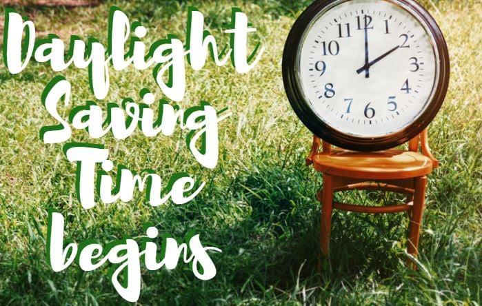 Daylight Saving Time begins on Sunday (FOX Carolina/ Canva)