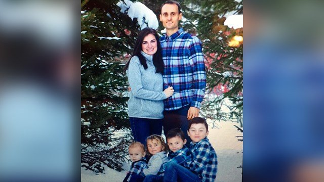 Firefighter Will Willis and family (file/FOX Carolina)