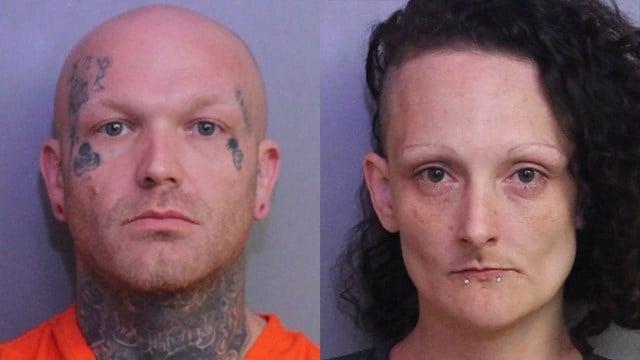 Christopher Taylor and Kristina Sluss (Source: Polk Co. Detention)