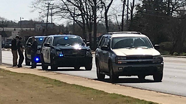 Troopers apprehend vehicle in investigation (Mar. 13, 2018/FOX Carolina)